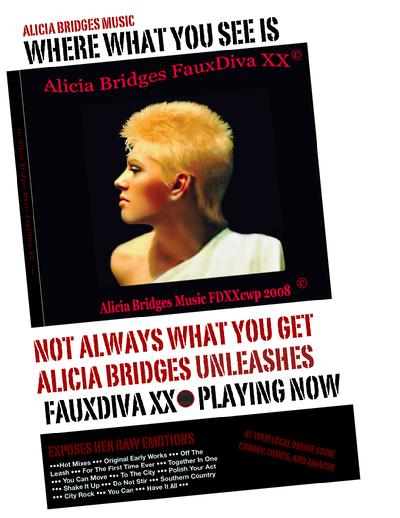 Alicia Bridges Album FauxDiva XX
