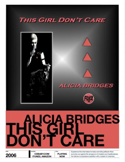 Alicia Bridges Album This Girl Don't Care